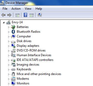 Installing Microsoft Loopback adapter on Windows 7: Device Manager